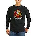 Ormerod Family Crest Long Sleeve Dark T-Shirt