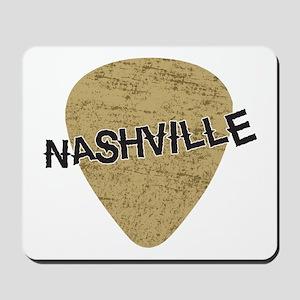 Nashville Guitar Pick Mousepad