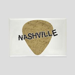 Nashville Guitar Pick Rectangle Magnet