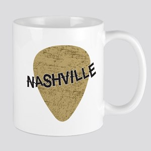 Nashville Guitar Pick Mug