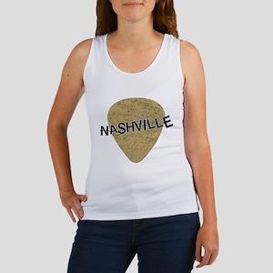 Nashville Guitar Pick Women's Tank Top