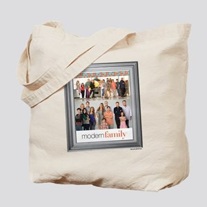 Modern Family Portrait Tote Bag