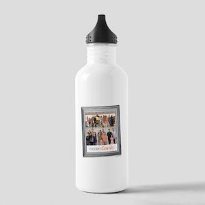Modern Family Portrait Stainless Water Bottle 1.0L