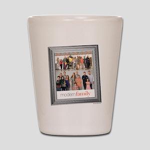 Modern Family Portrait Shot Glass