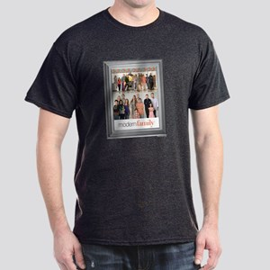 Modern Family Portrait Dark T-Shirt