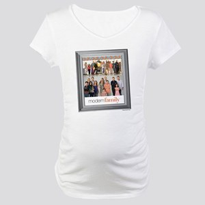 Modern Family Portrait Maternity T-Shirt