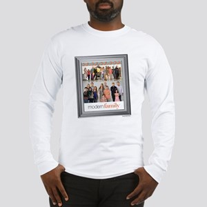 Modern Family Portrait Long Sleeve T-Shirt