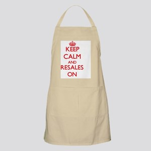 Keep Calm and Resales ON Apron