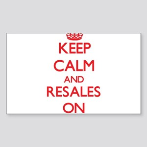 Keep Calm and Resales ON Sticker