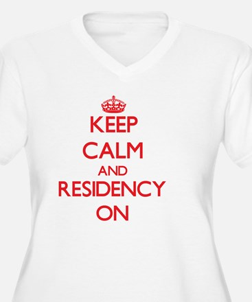 Keep Calm and Residency ON Plus Size T-Shirt