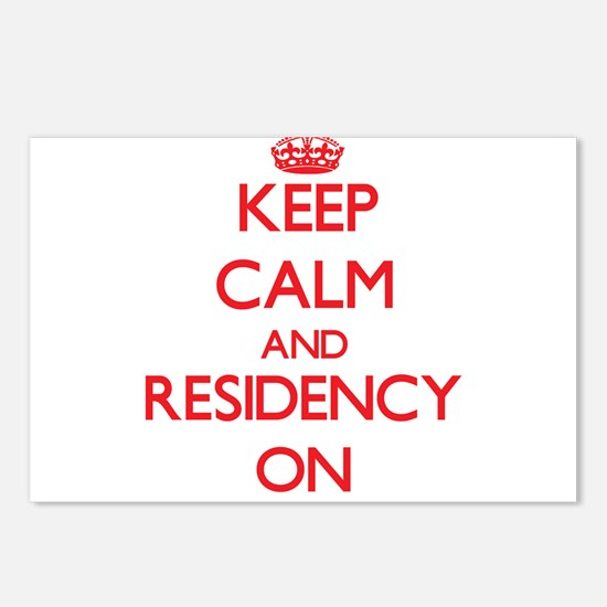 Keep Calm and Residency O Postcards (Package of 8)