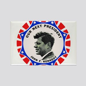 John F. Kennedy : Our Next President Magnets