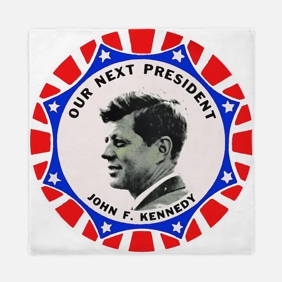 John F. Kennedy : Our Next President Queen Duvet