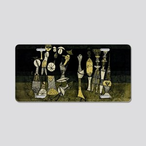 Paul Klee - Comedy Aluminum License Plate