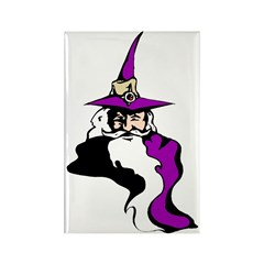 Mischevous Wizard Rectangle Magnet (10 pack)