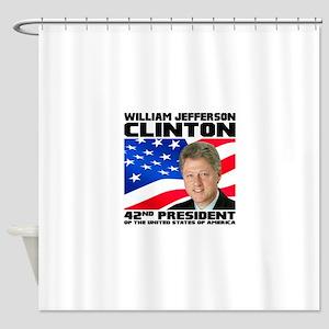 42 Clinton Shower Curtain