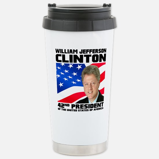 42 Clinton Stainless Steel Travel Mug