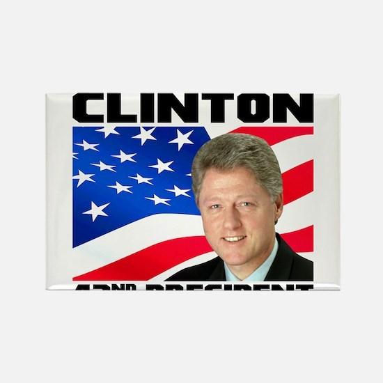 42 Clinton Rectangle Magnet