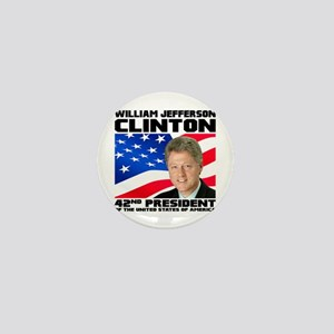 42 Clinton Mini Button