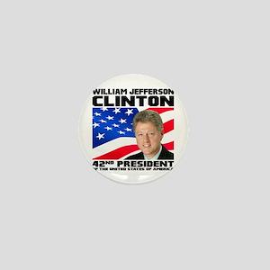 42 Clinton Mini Button
