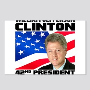 42 Clinton Postcards (Package of 8)