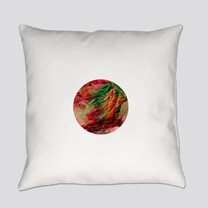 Glacial Storm Everyday Pillow