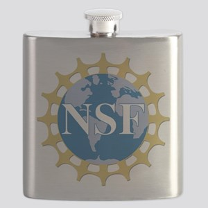 National Science Foundation Crest Flask