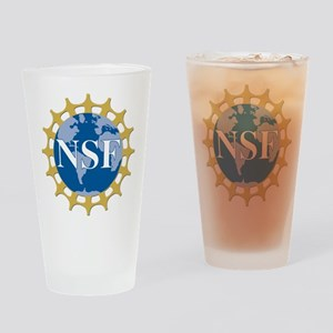 National Science Foundation Crest Drinking Glass