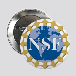 """National Science Foundation Crest 2.25"""" Button"""