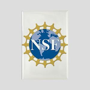 National Science Foundation Crest Rectangle Magnet