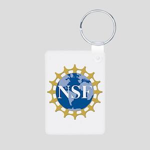 National Science Foundatio Aluminum Photo Keychain