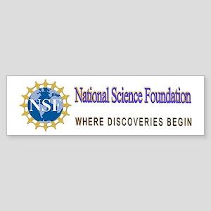 National Science Foundation Crest Sticker (Bumper)