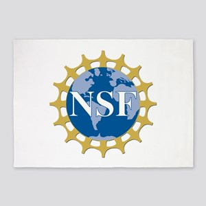 National Science Foundation Crest 5'x7'Area Rug
