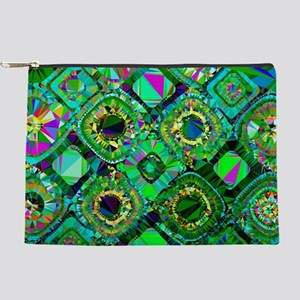 Mosaic 2 Geometric Low Poly Makeup Pouch