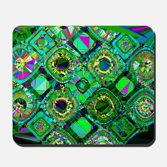 Mosaic 2 Geometric Low Poly Mousepad
