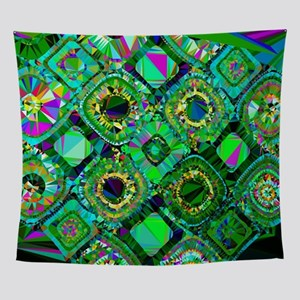 Mosaic 2 Geometric Low Poly Wall Tapestry