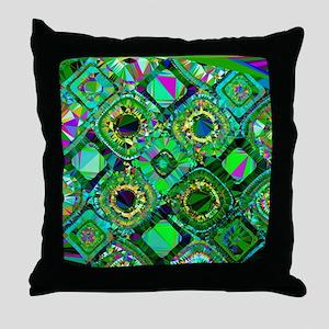 Mosaic 2 Geometric Low Poly Throw Pillow