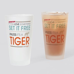 Modern Family Phil's-osophy Tiger Drinking Glass