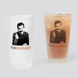 Modern Family Nice Mustache Drinking Glass