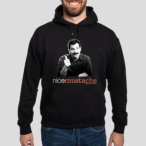 Modern Family Nice Mustache Hoodie (dark)