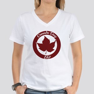 Eh Canada Day Women's V-Neck T-Shirt