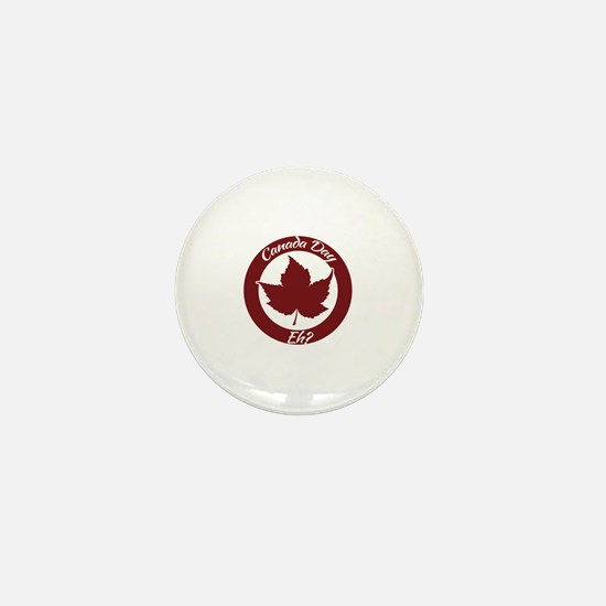 Eh Canada Day Mini Button
