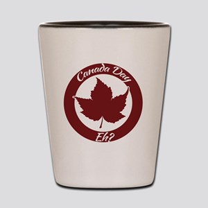 Eh Canada Day Shot Glass
