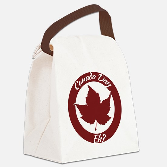 Eh Canada Day Canvas Lunch Bag