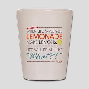 Modern Family Phil's-osophy Lemonade Shot Glass