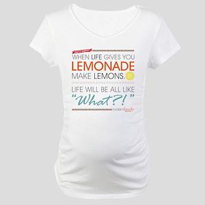 Modern Family Phil's-osophy Lemo Maternity T-Shirt