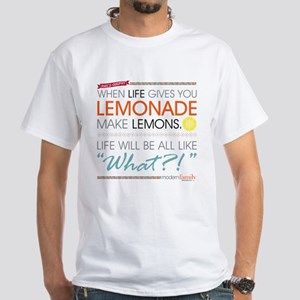 Modern Family Phil's-osophy Lemonade White T-Shirt