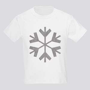 Vintage Snowflake Kids Light T-Shirt