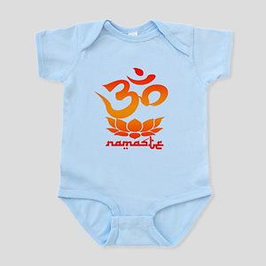 Namaste Symbol (Warm Red Version) Body Suit