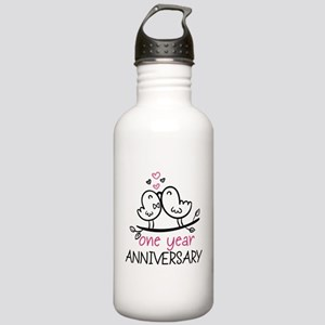 1st Anniversary Cute C Stainless Water Bottle 1.0L